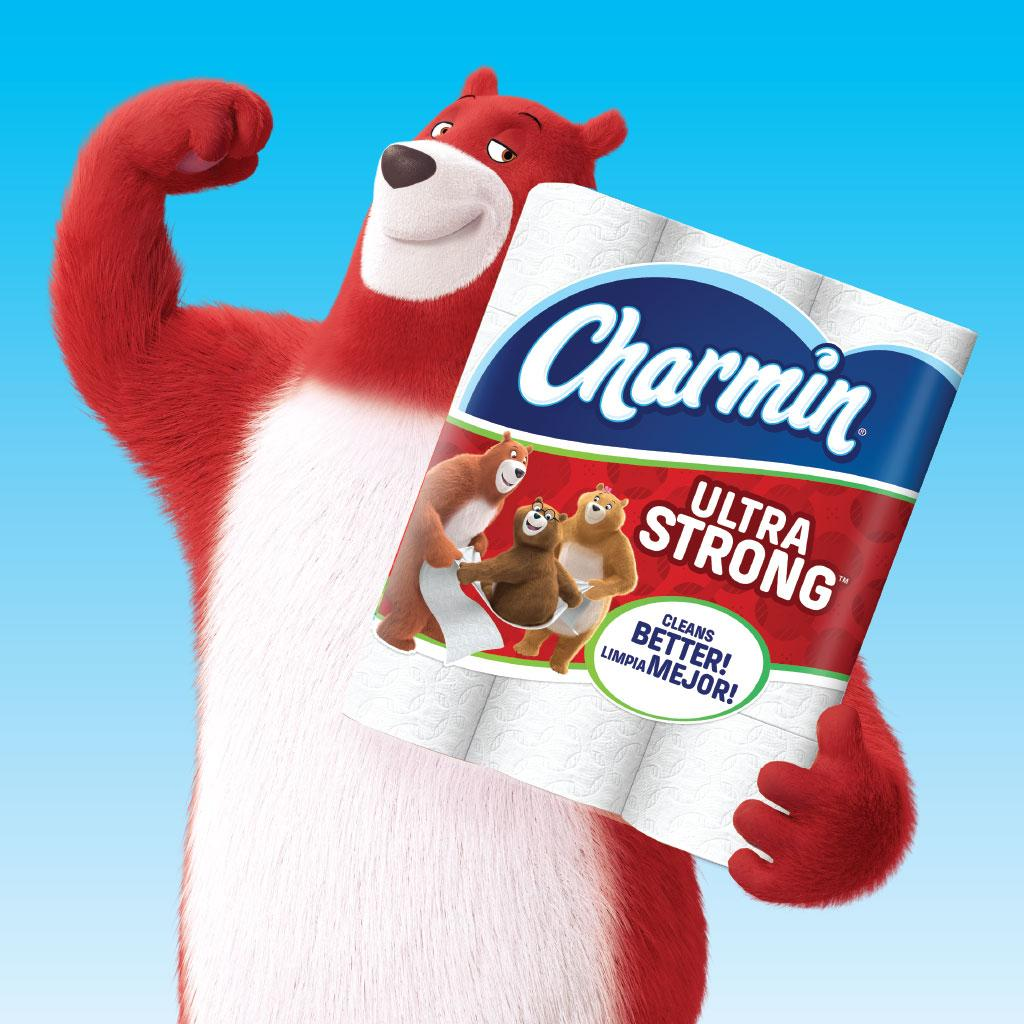 Amazon Com Charmin Ultra Strong Toilet Paper Mega Roll