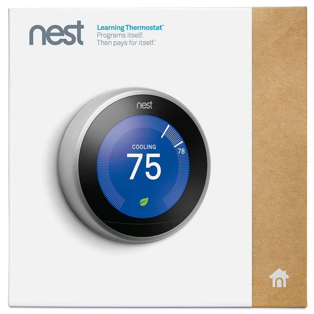 Nest Learning Thermostat  3rd Generation -