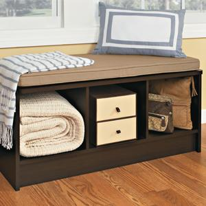 Amazon Com Closetmaid 1569 Cubeicals 3 Cube Storage Bench
