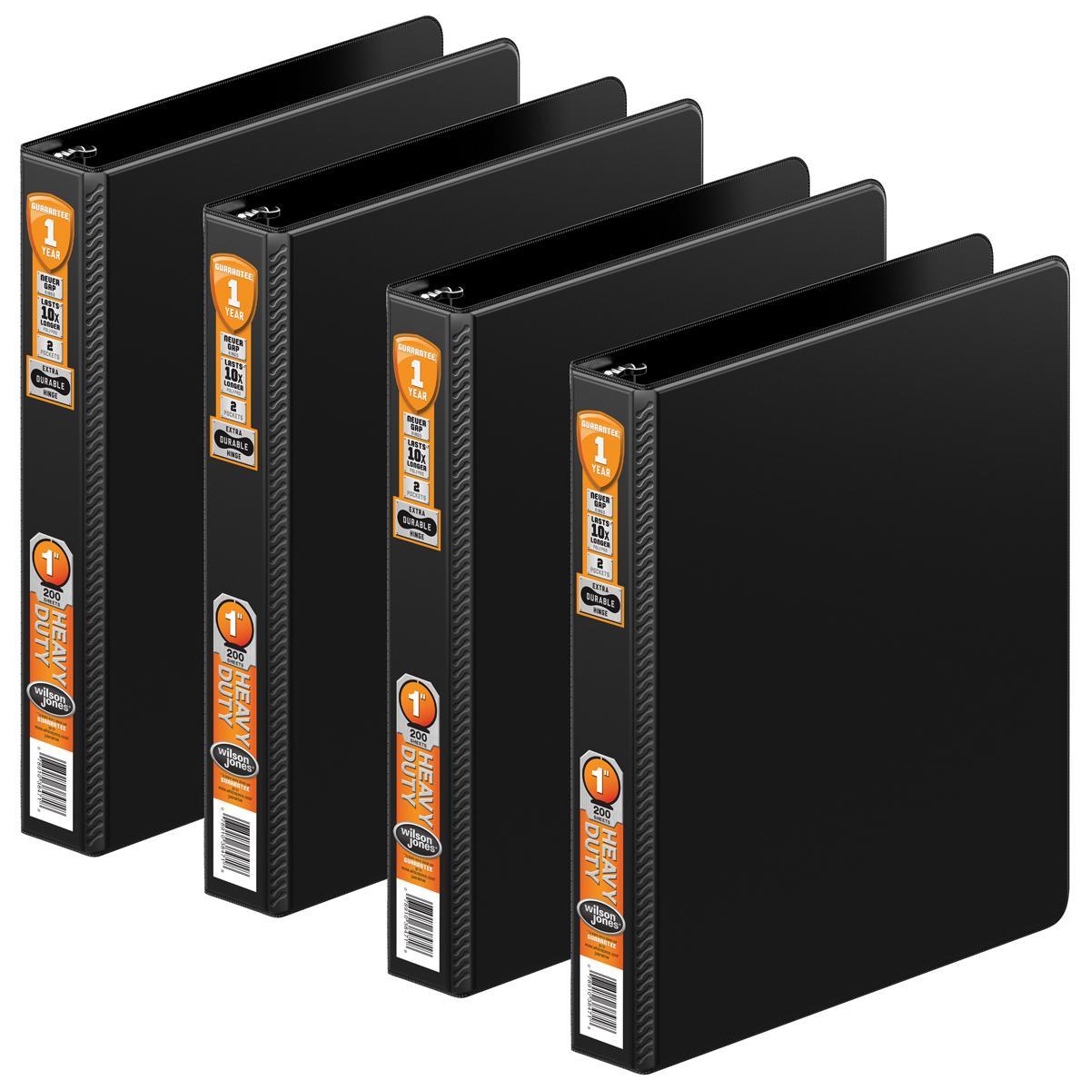 Amazon.com : Wilson Jones Heavy Duty 3 Ring Binder With