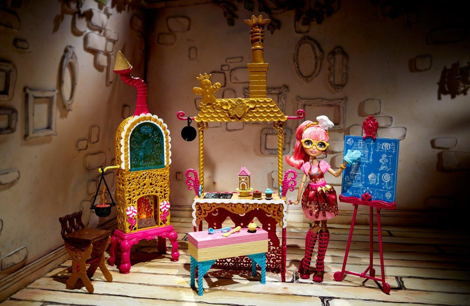 Amazon Com Ever After High Sugar Coated Kitchen With