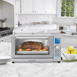 Amazon Com Cuisinart Tob 135 Deluxe Convection Toaster