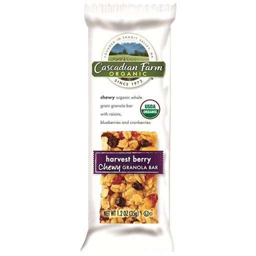 Cascadian Farm, Organic Chewy Granola Bars, Harvest Berry