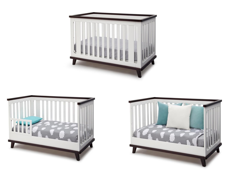 Amazon.com : Delta Children Ava 3-in-1 Convertible Crib