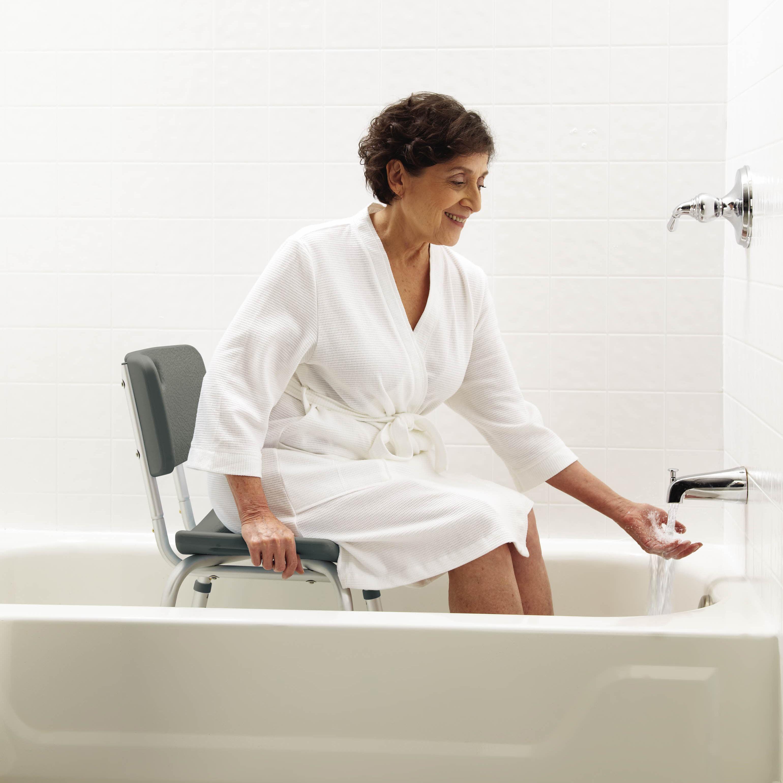 Amazon Com Medline Guardian Bath Bench With Back Health