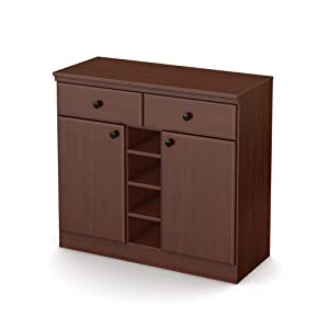 Amazon Com South Shore Morgan Collection Storage Cabinet