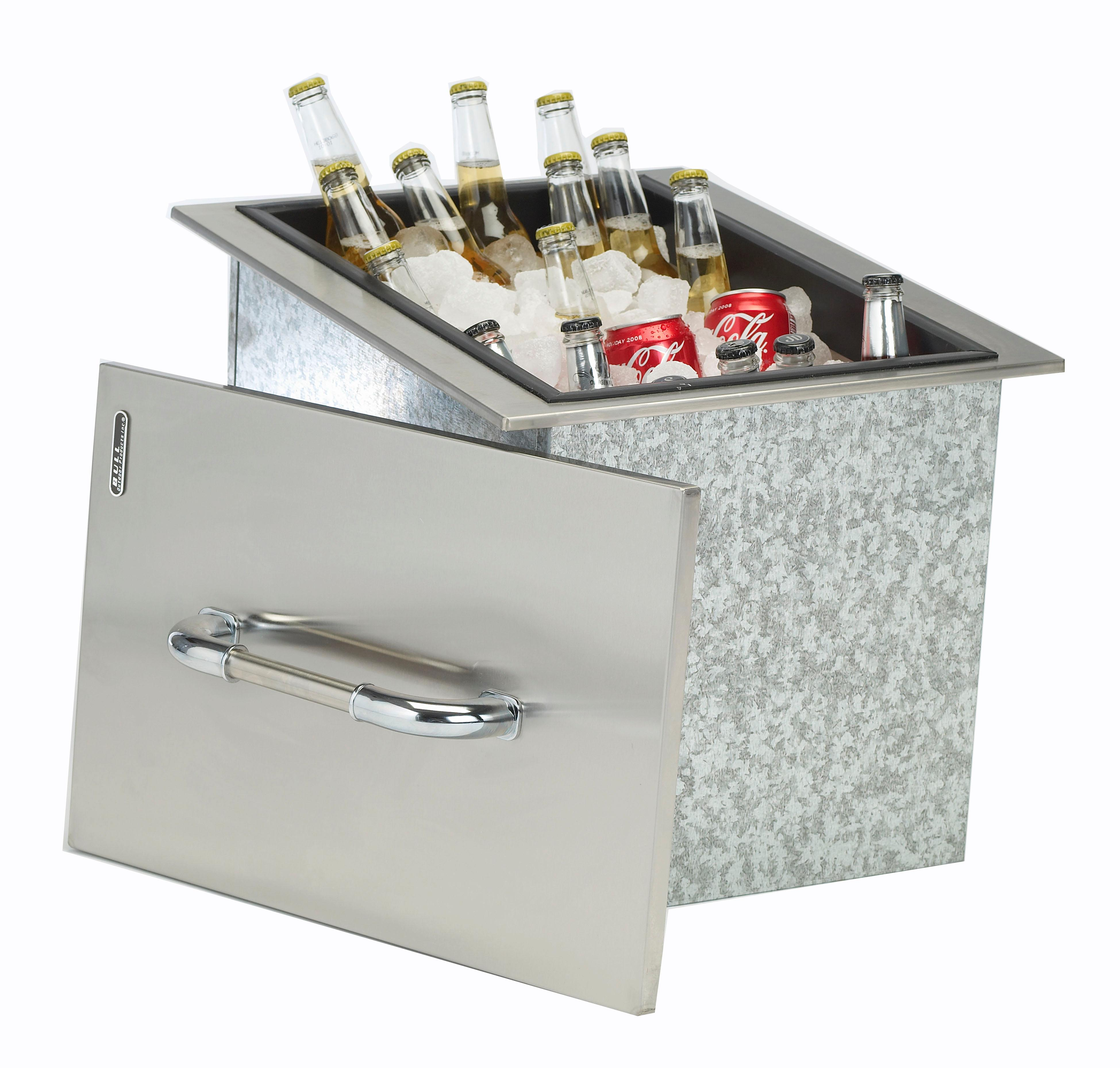 This Heavy Duty Galvanized Steel Framed Grill Island: View Larger