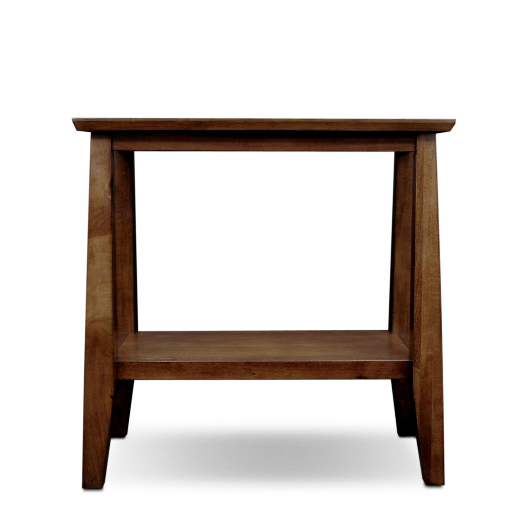 Kitchen Side Table: Amazon.com: Leick Delton Narrow Chairside End Table