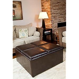 Amazon Com Simpli Home Avalon Coffee Table Storage