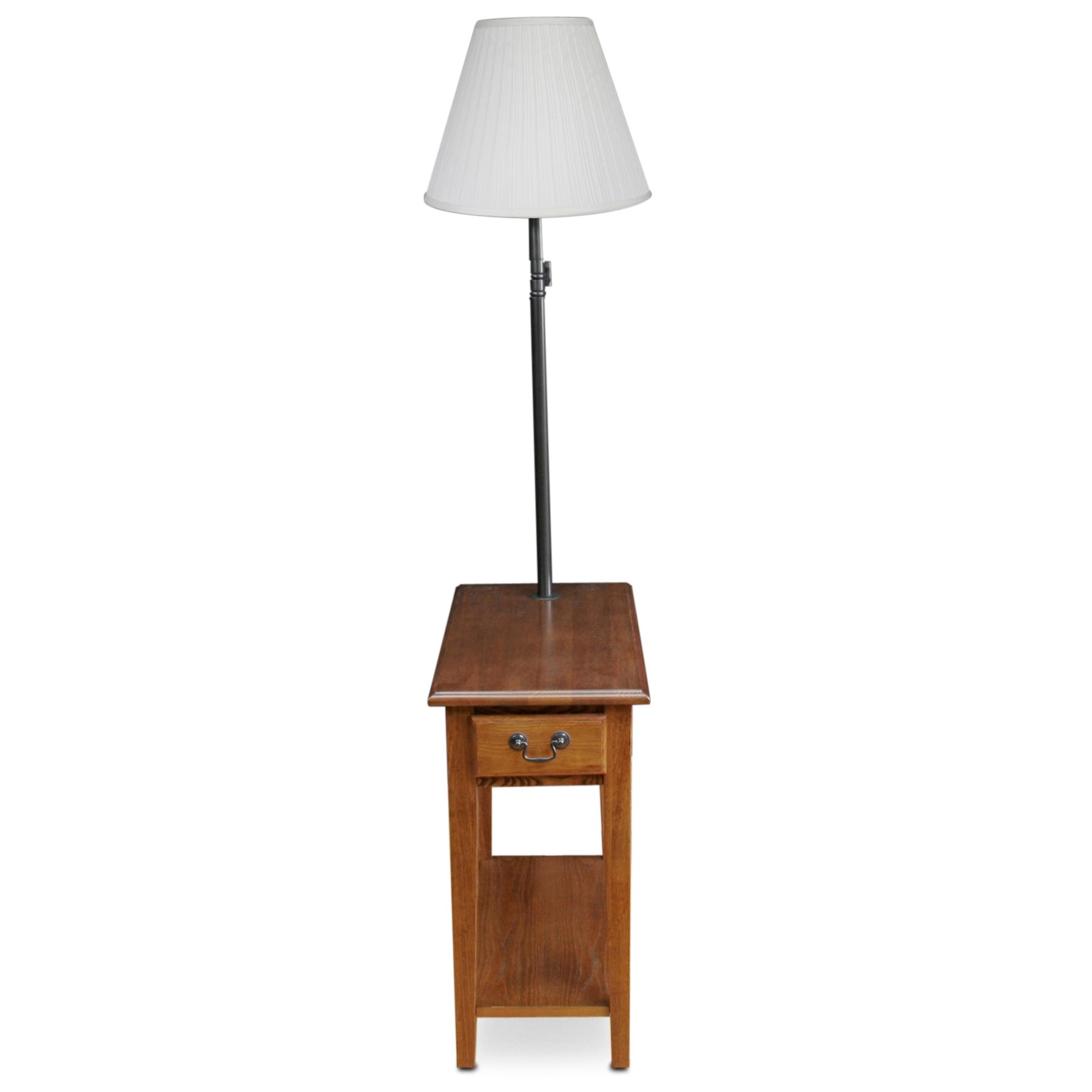 Amazon Com Leick Chair Side Lamp End Table With Drawer