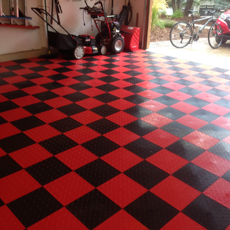 Amazon Com Speedway Garage Tile Interlocking Garage