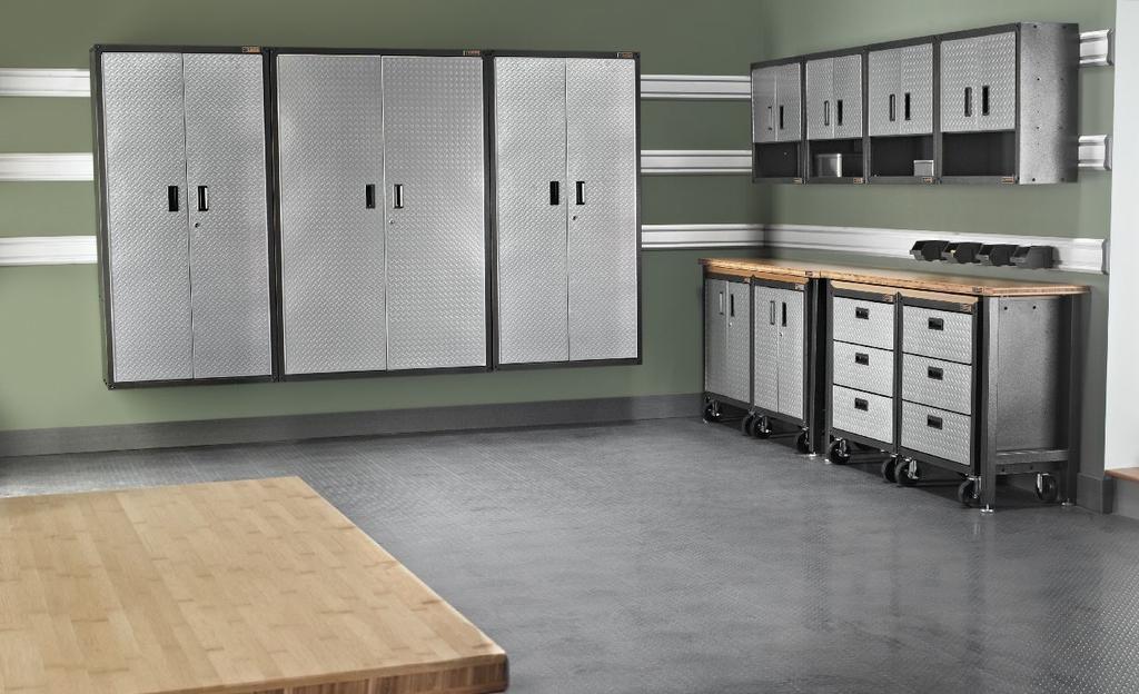 Gladiator Garage Storage Cabinets: Amazon.com: Gladiator GALG36KDYG Ready-To-Assemble Large