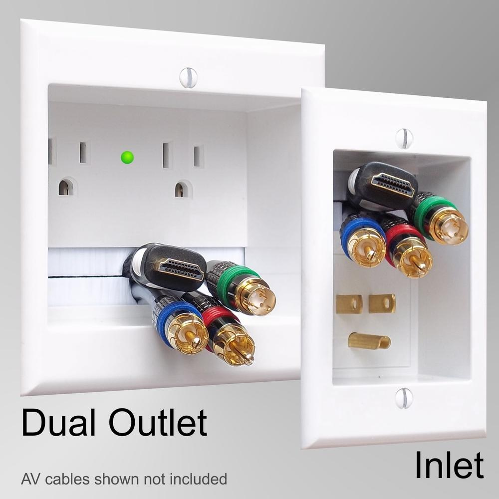 Amazon Com Powerbridge Two Pro 6 Dual Power Outlet