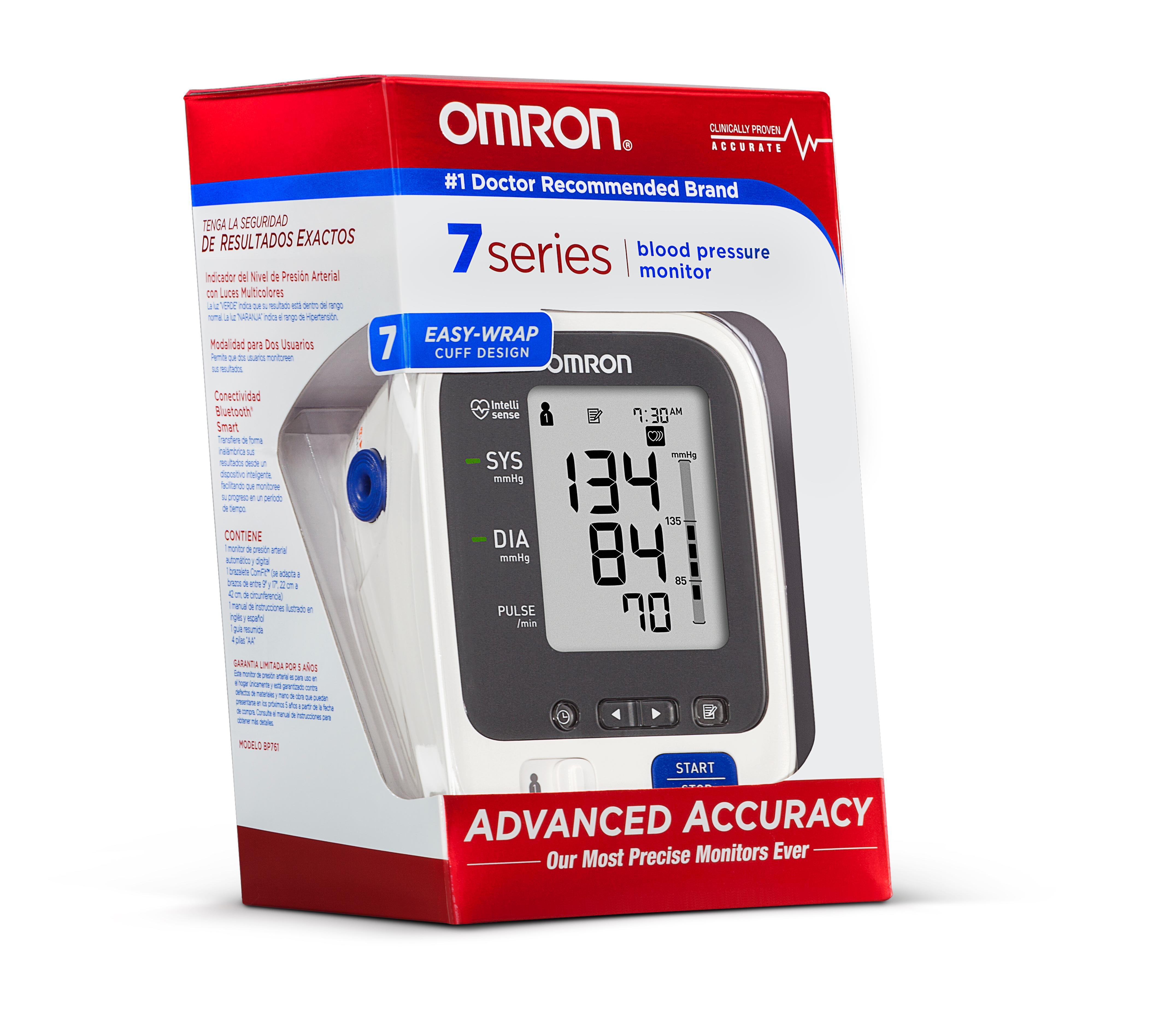 Amazon Com Omron 7 Series Upper Arm Blood Pressure