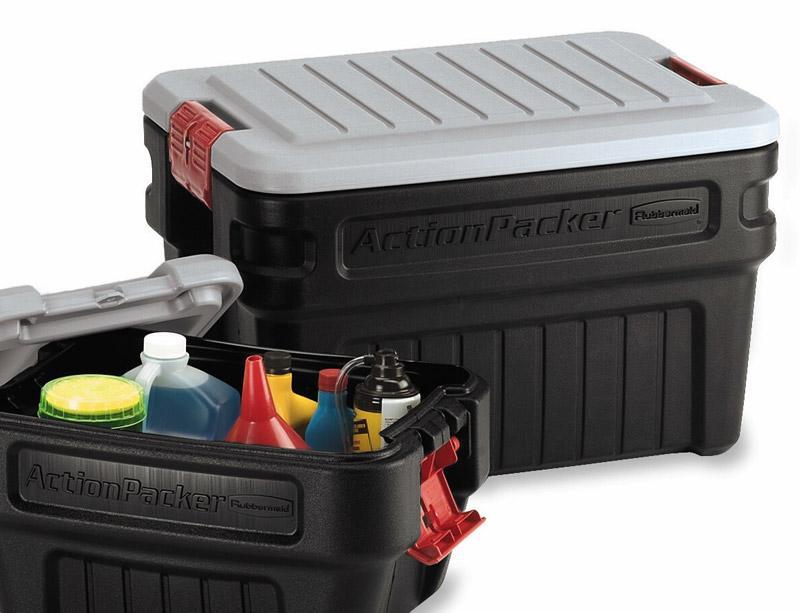 Amazon Com Rubbermaid 1172 Actionpacker Storage Box 24