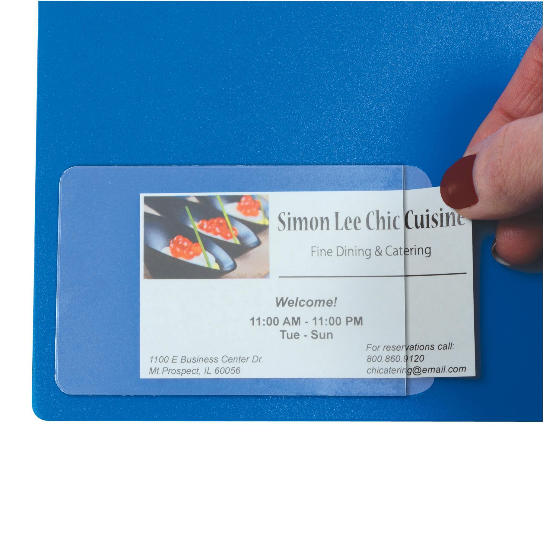 Amazon.com : C-Line Self-Adhesive Binder Label Holders For