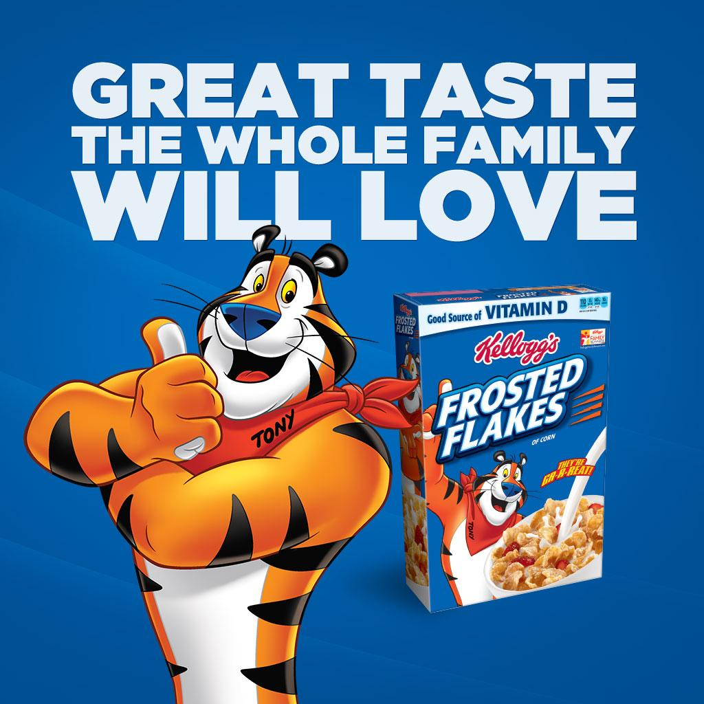 Amazon.com: Kellogg's Frosted Flakes Cereal, 1-Ounce Bowls