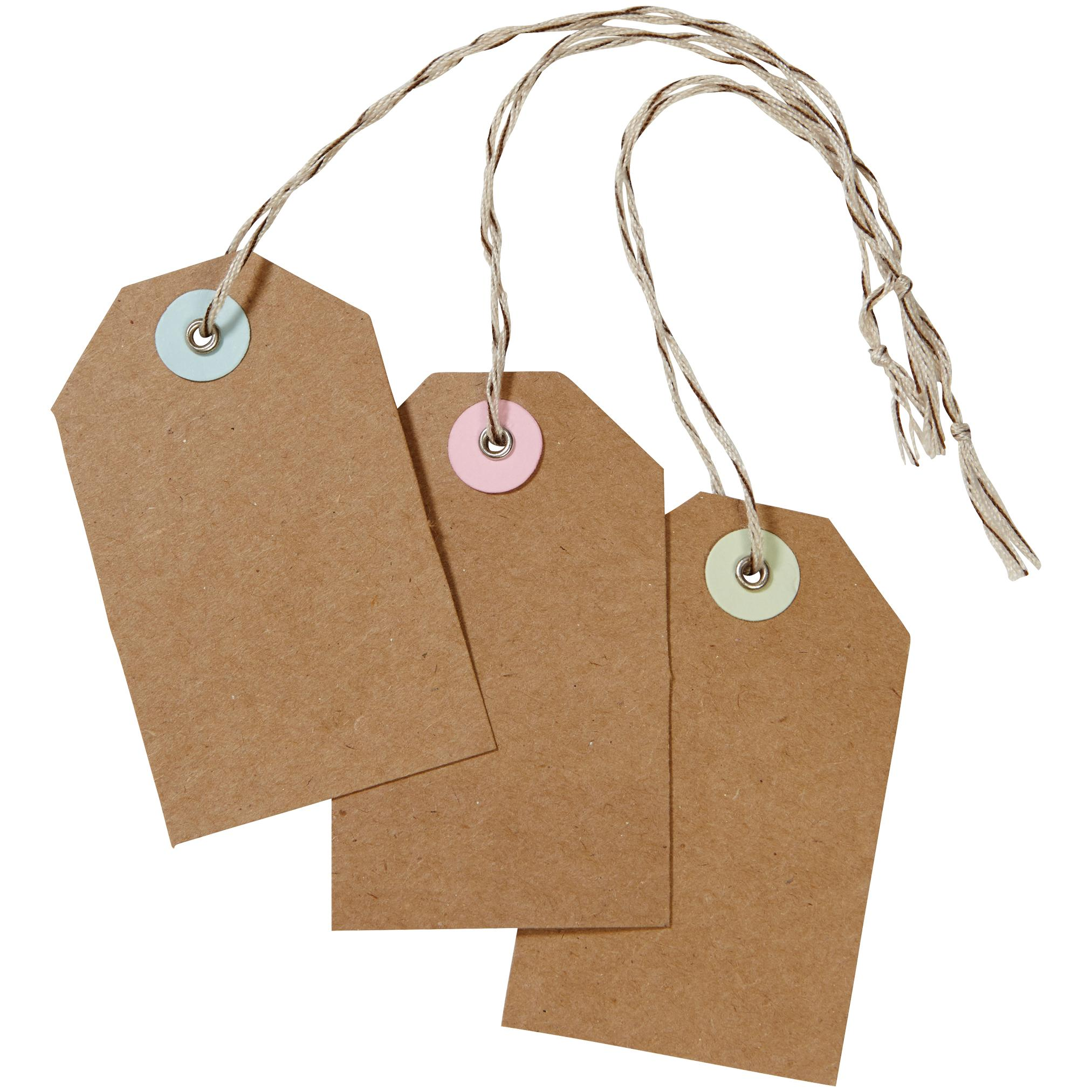Gift tags crafthubs amazon martha stewart crafts kraft tags gift tags negle Images