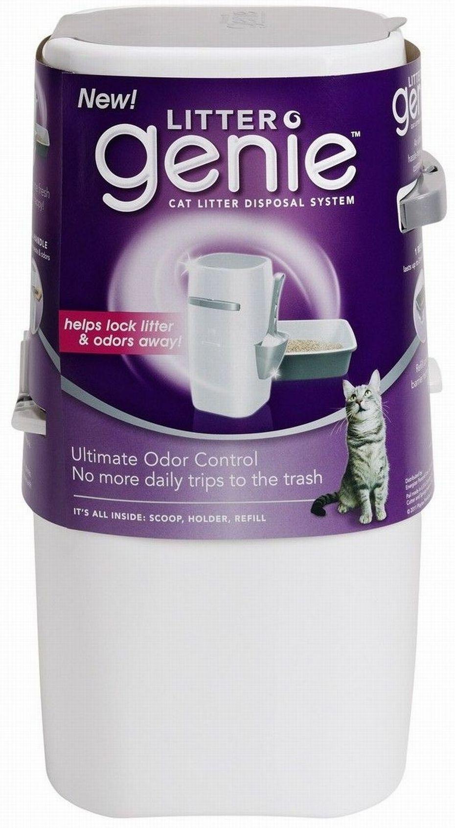 Amazon Com Litter Genie Cat Litter Disposal Odor Free