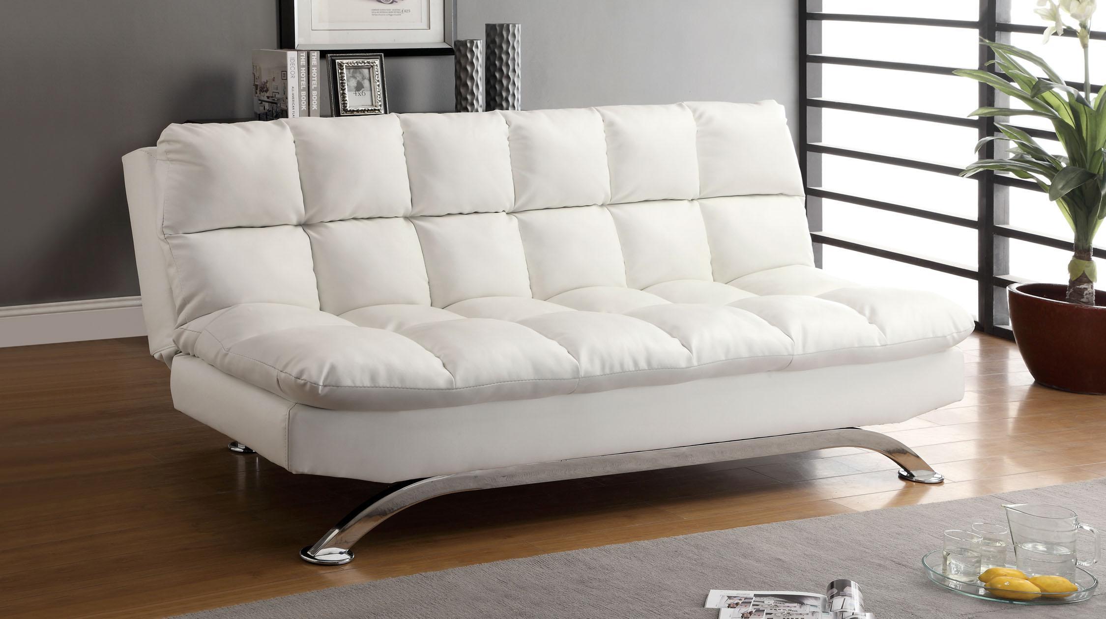 Day Beds Ikea Amazon Com Furniture Of America Adelle Convertible Sofa