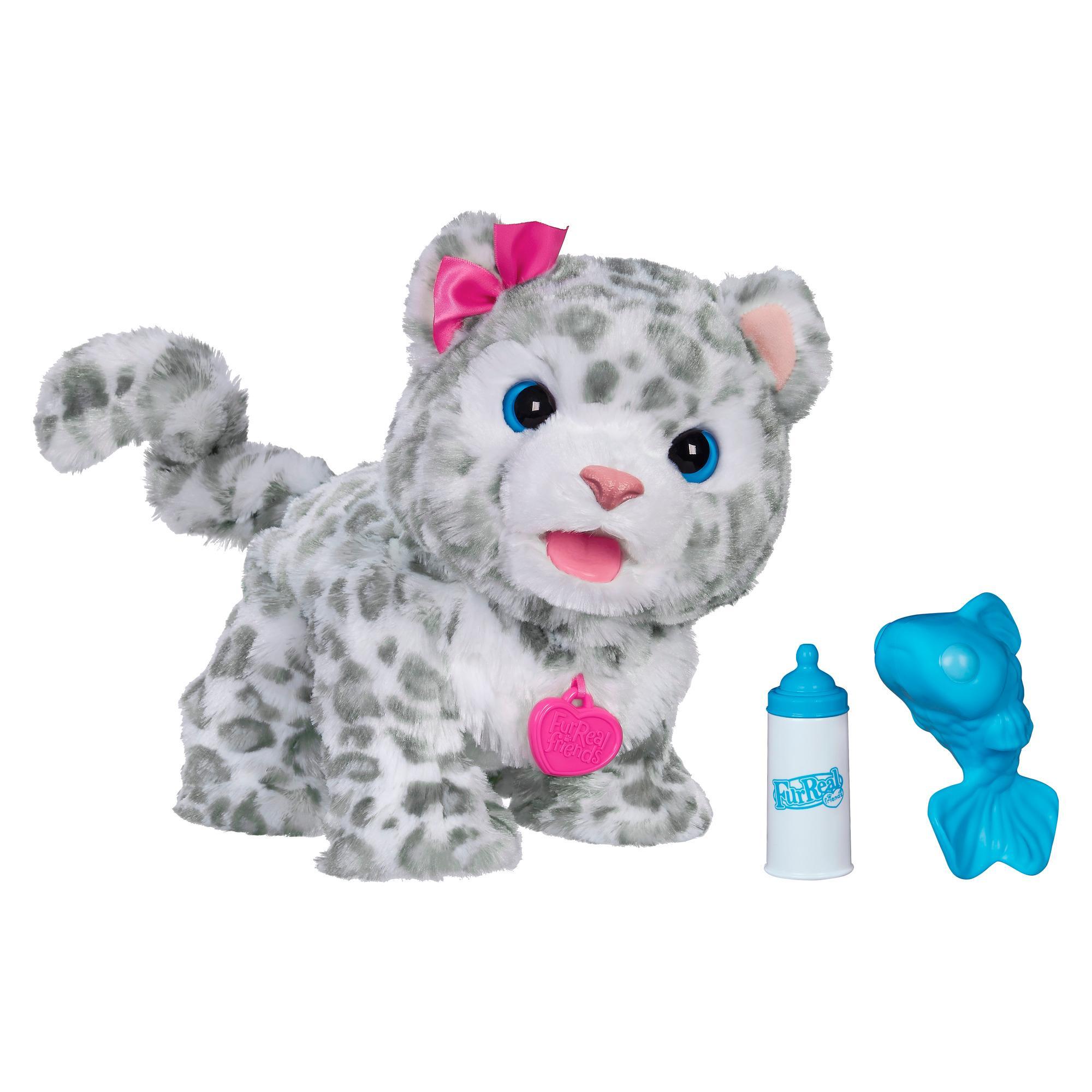 Amazon Com Furreal Friends Flurry My Baby Snow Leopard