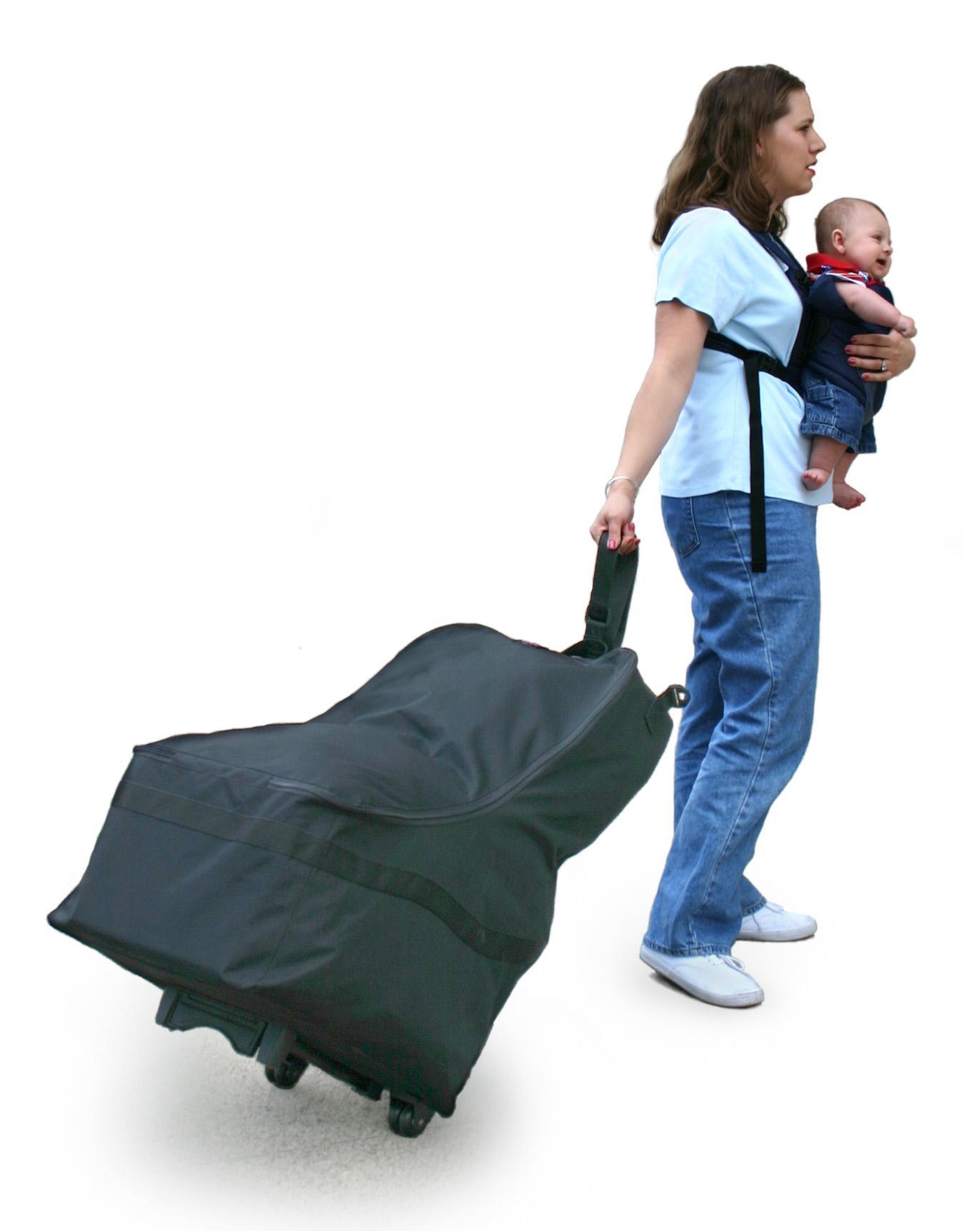Amazon Com Jl Childress Wheelie Car Seat Travel Bag