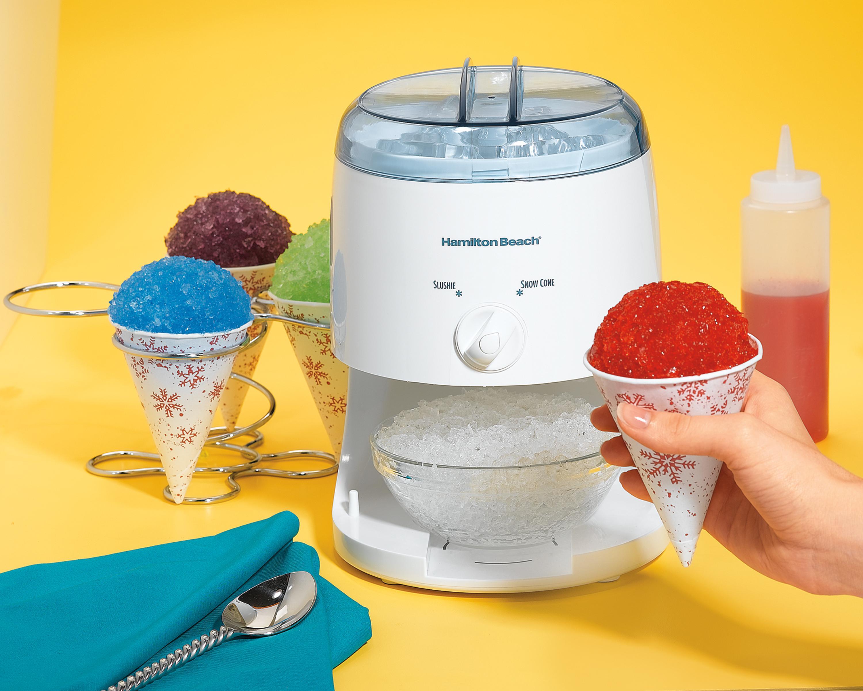Ice Maker Machine Makers Sorbet Electric Snoopie Snow Cone