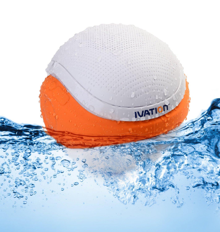 Ivation waterproof bluetooth swimming pool - Waterproof speakers for swimming pools ...