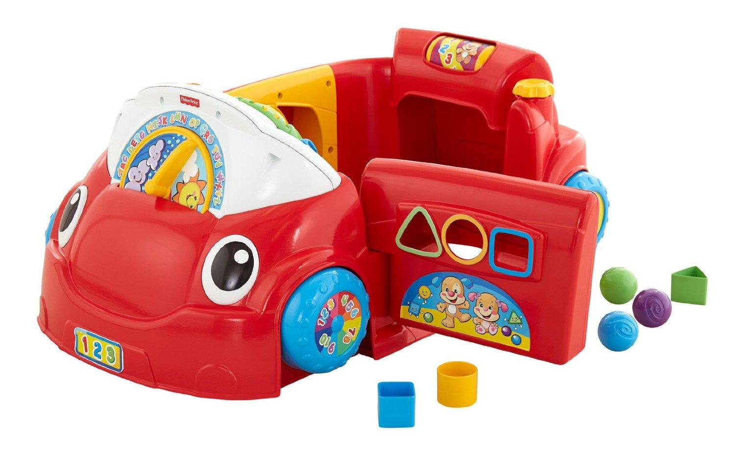 Fisher-Price Laugh And Learn 3-in-1 Smart Car : Target  |Fisher Price Laugh And Learn Cars