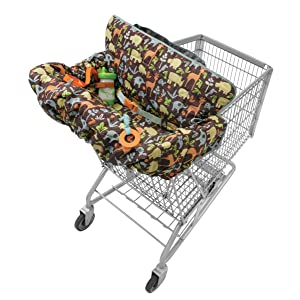 Amazon Com Infantino Compact 2 In 1 Shopping Cart Cover