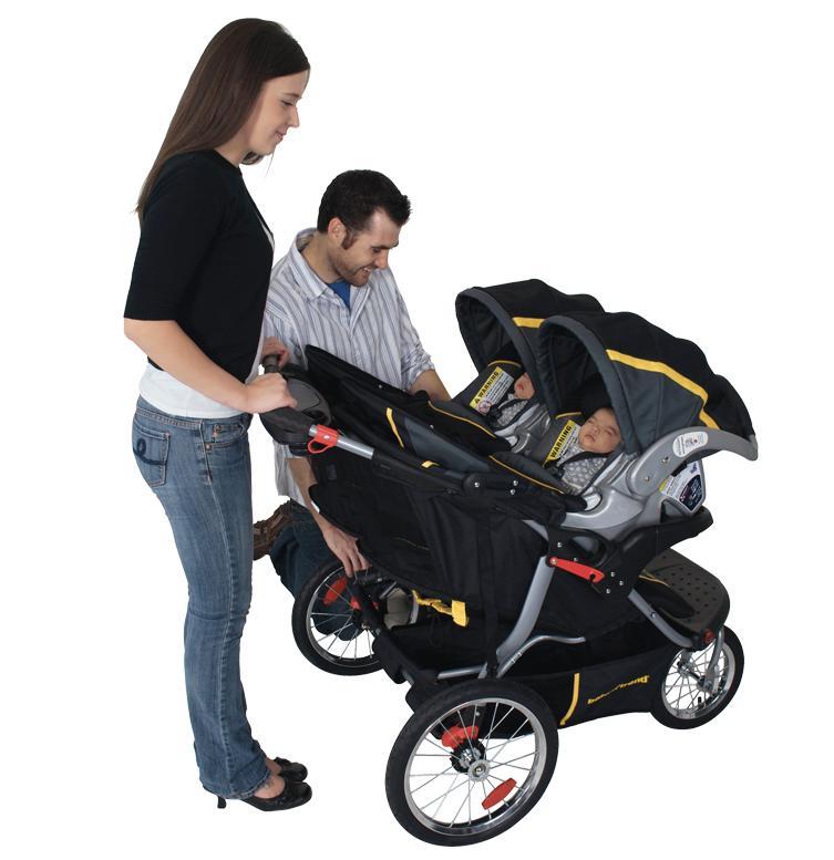 Amazon Com Baby Trend Navigator Double Jogging Stroller