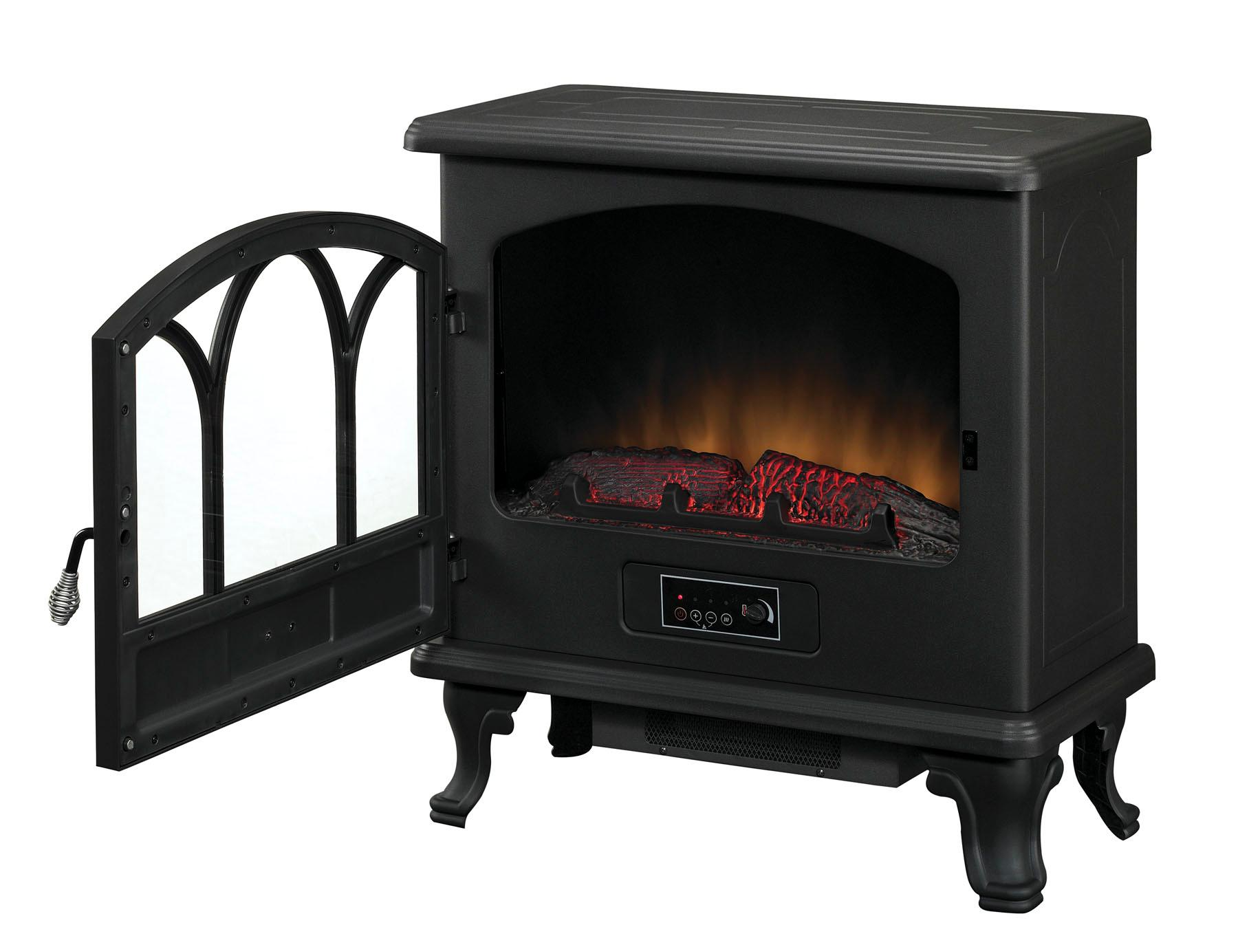 Duraflame Large Stove Heater, Black, DFS-750