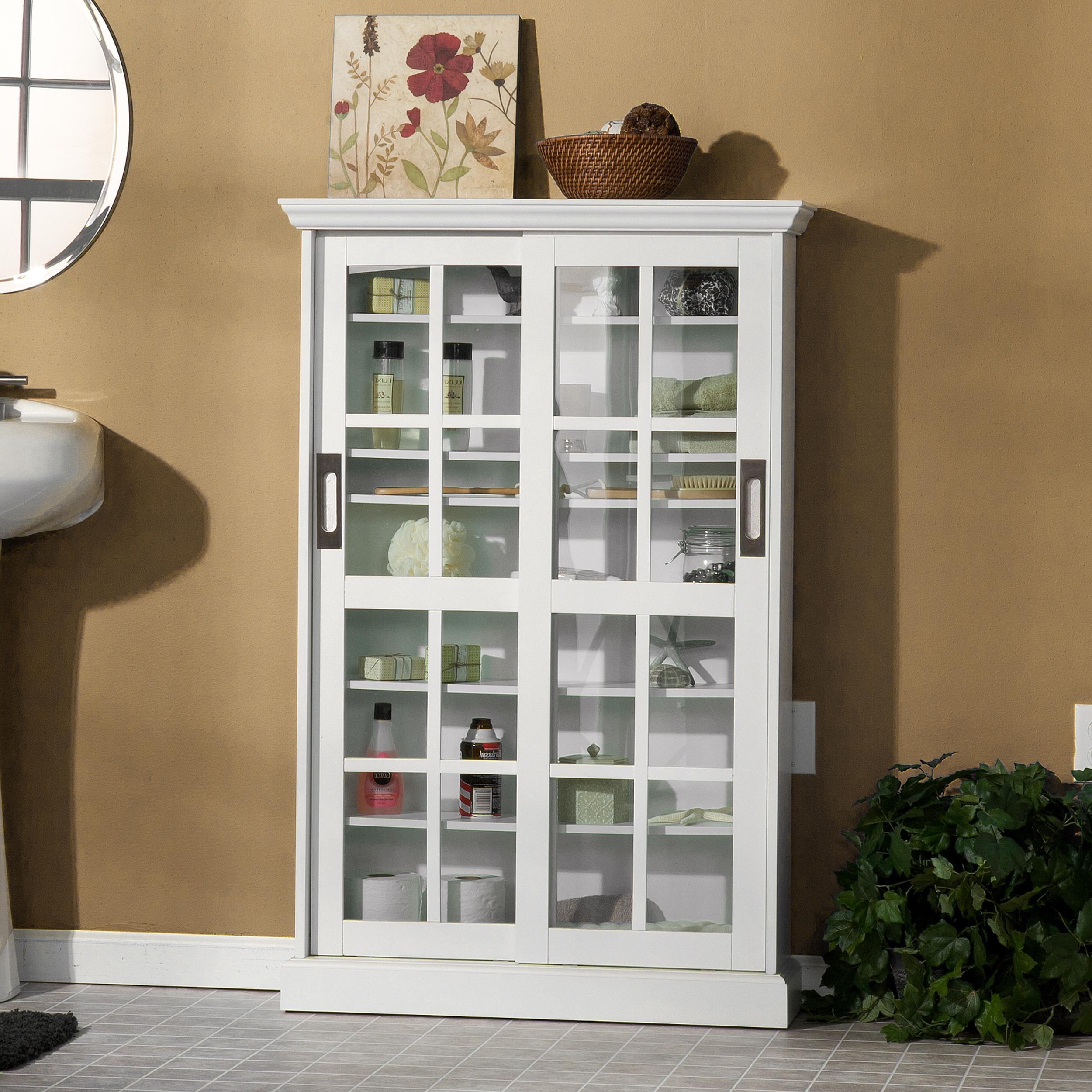 Media Furniture Cabinets: View Larger