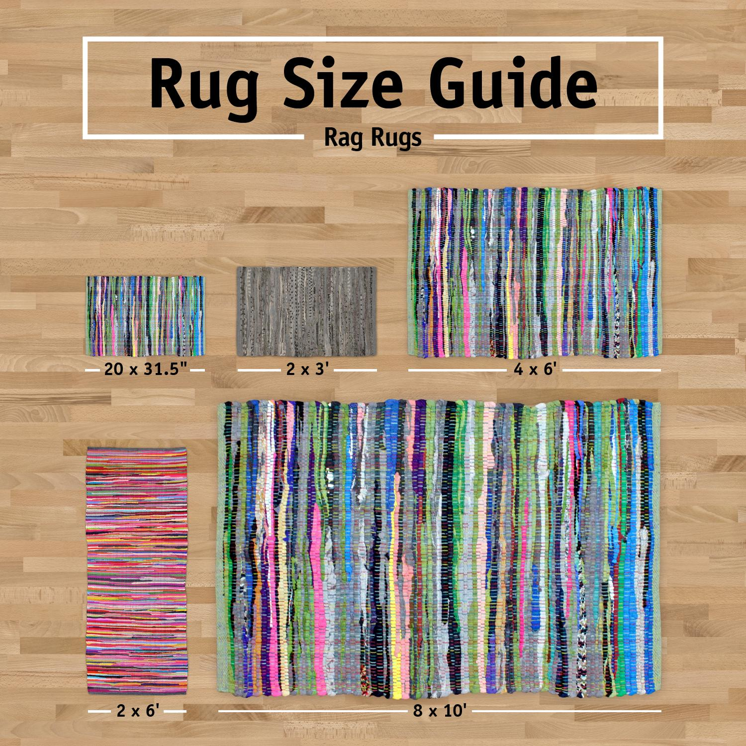 dii home essentials rag rug for kitchen bathroom entry way laundry room and. Black Bedroom Furniture Sets. Home Design Ideas