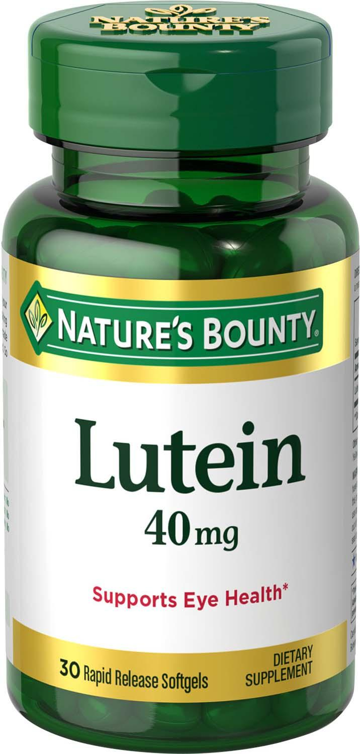 Lutein With Optilut 10 Mg: Amazon.com: Nature's Bounty Lutein (Naturally Contains
