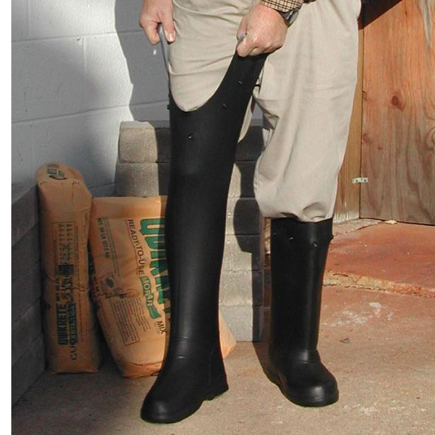 "SUPER GRIT Slip-Resistant Over-The-Shoe 17"" Rubber"