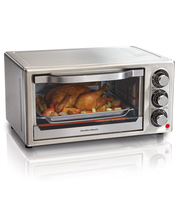 Black And Decker Toaster Ovens Amazon.com: Hamilton Beach 31511 Stainless Steel 6-Slice ...