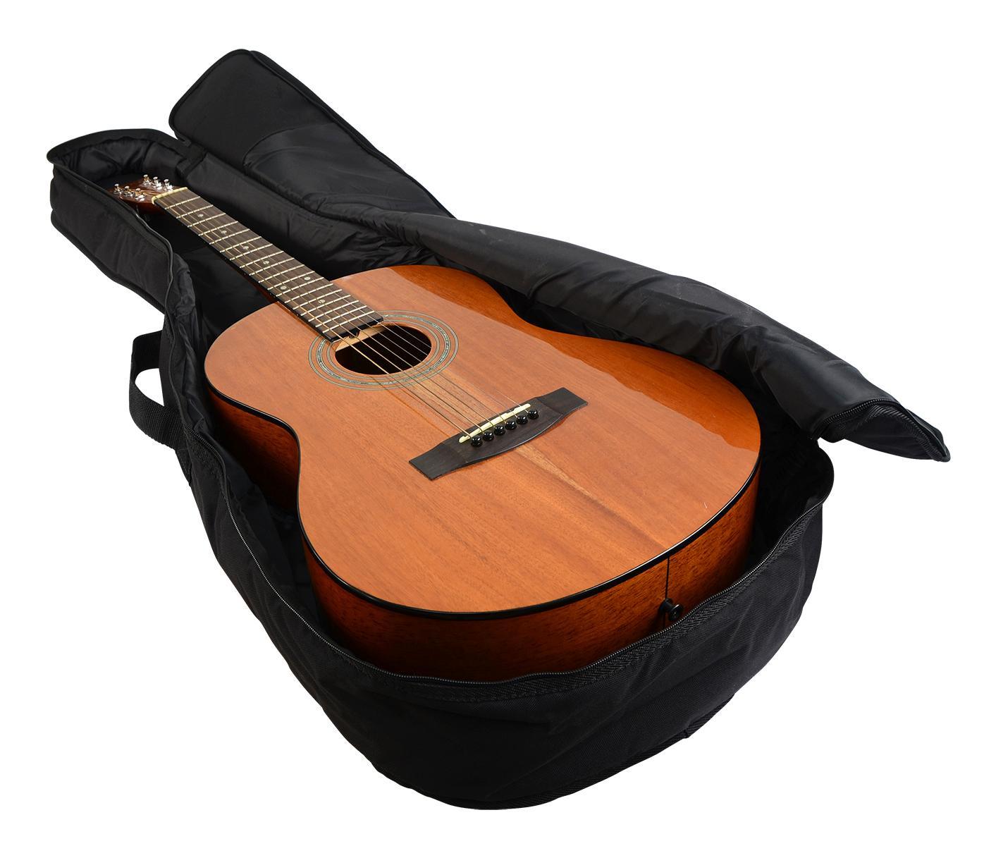 Acoustic Guitar Bag : gator gbe mini acou acoustic guitar bag musical instruments ~ Vivirlamusica.com Haus und Dekorationen