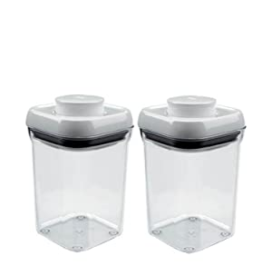 2 Mini Rectangle Containers 0 5 Qt 0 5 L