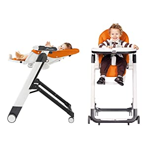 Amazon Com Peg Perego Siesta Highchair Arancia