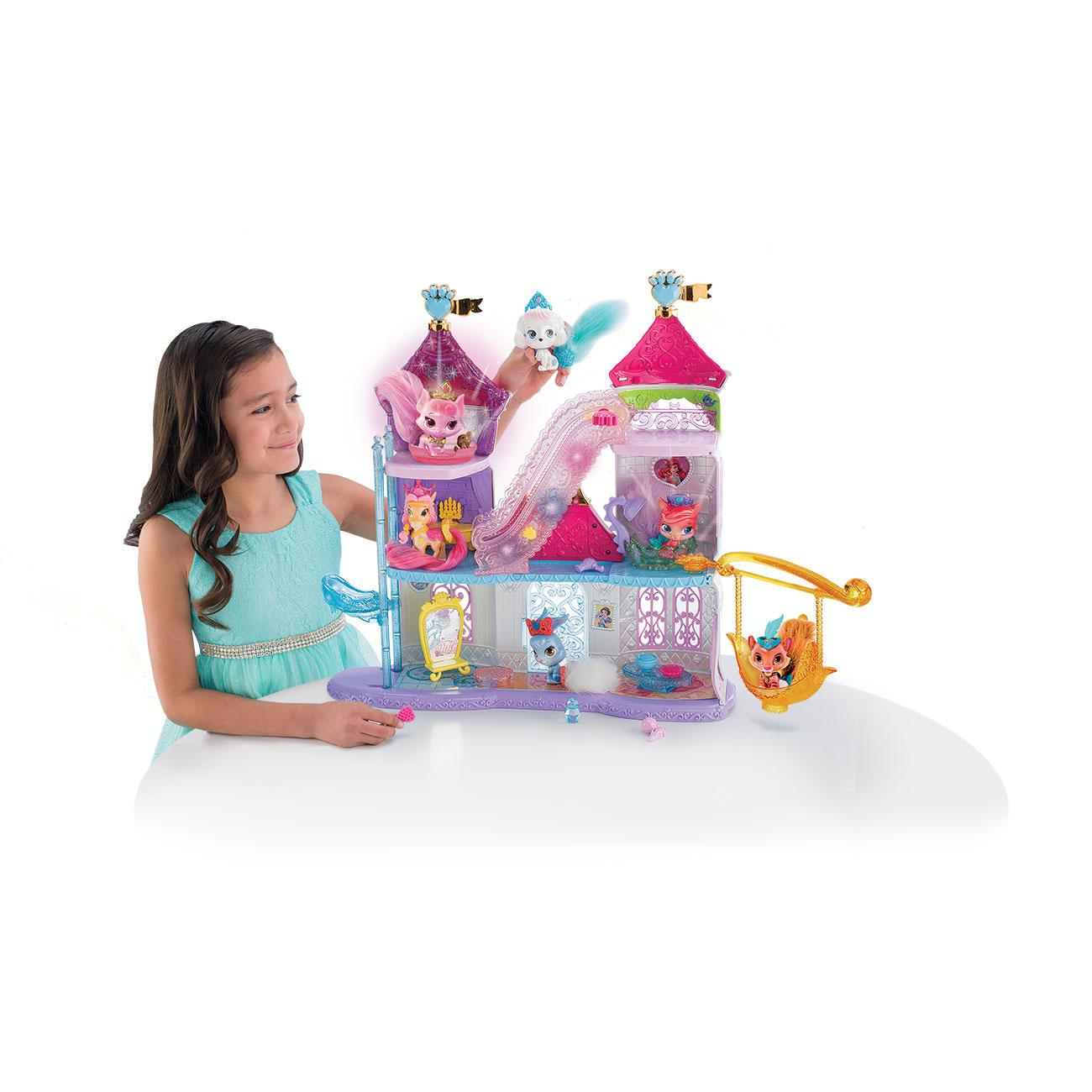 Amazon Com Disney Princess Palace Pets Magical Lights
