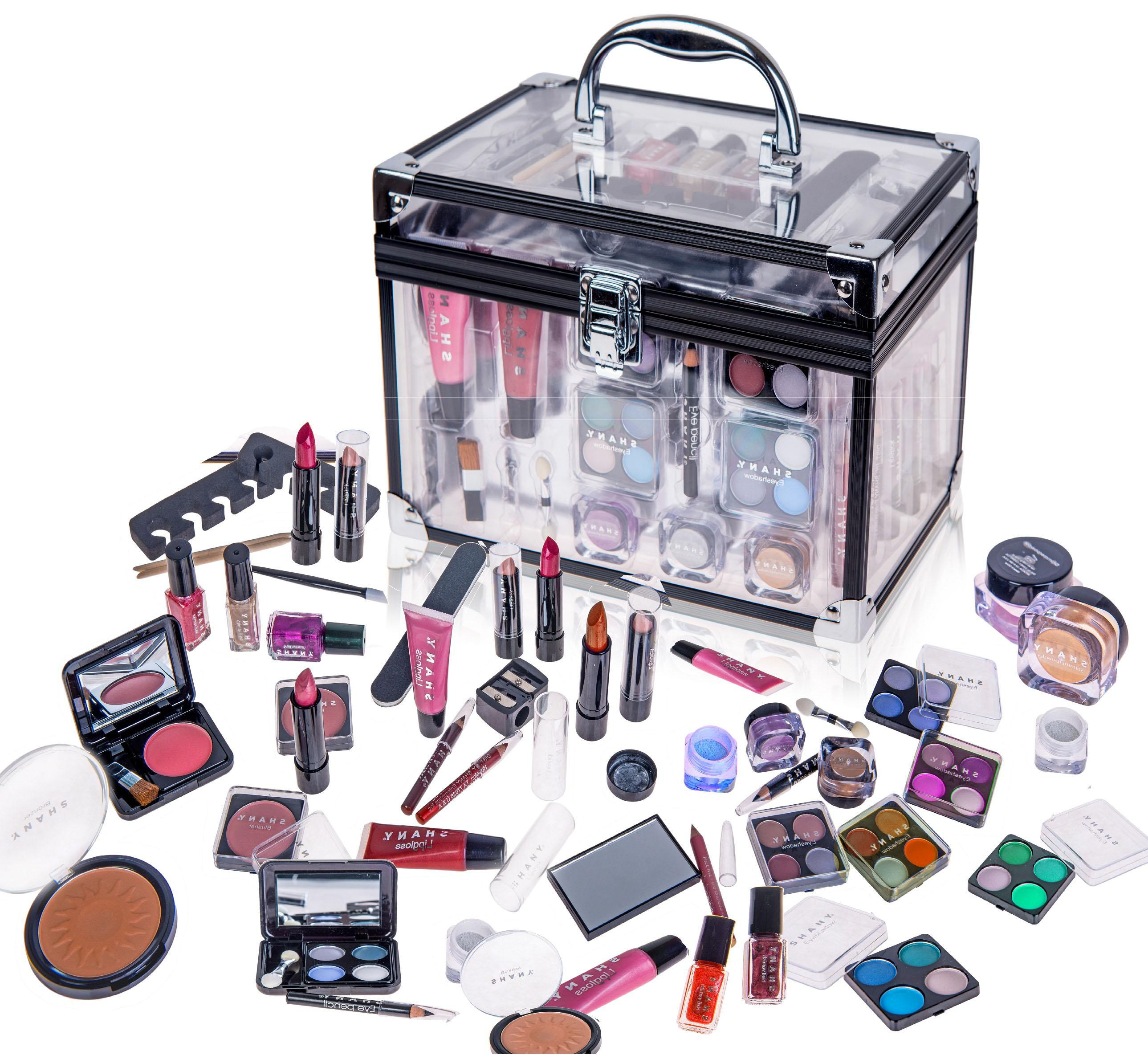 Amazon.com: SHANY Carry All Trunk Professional Makeup Kit ...
