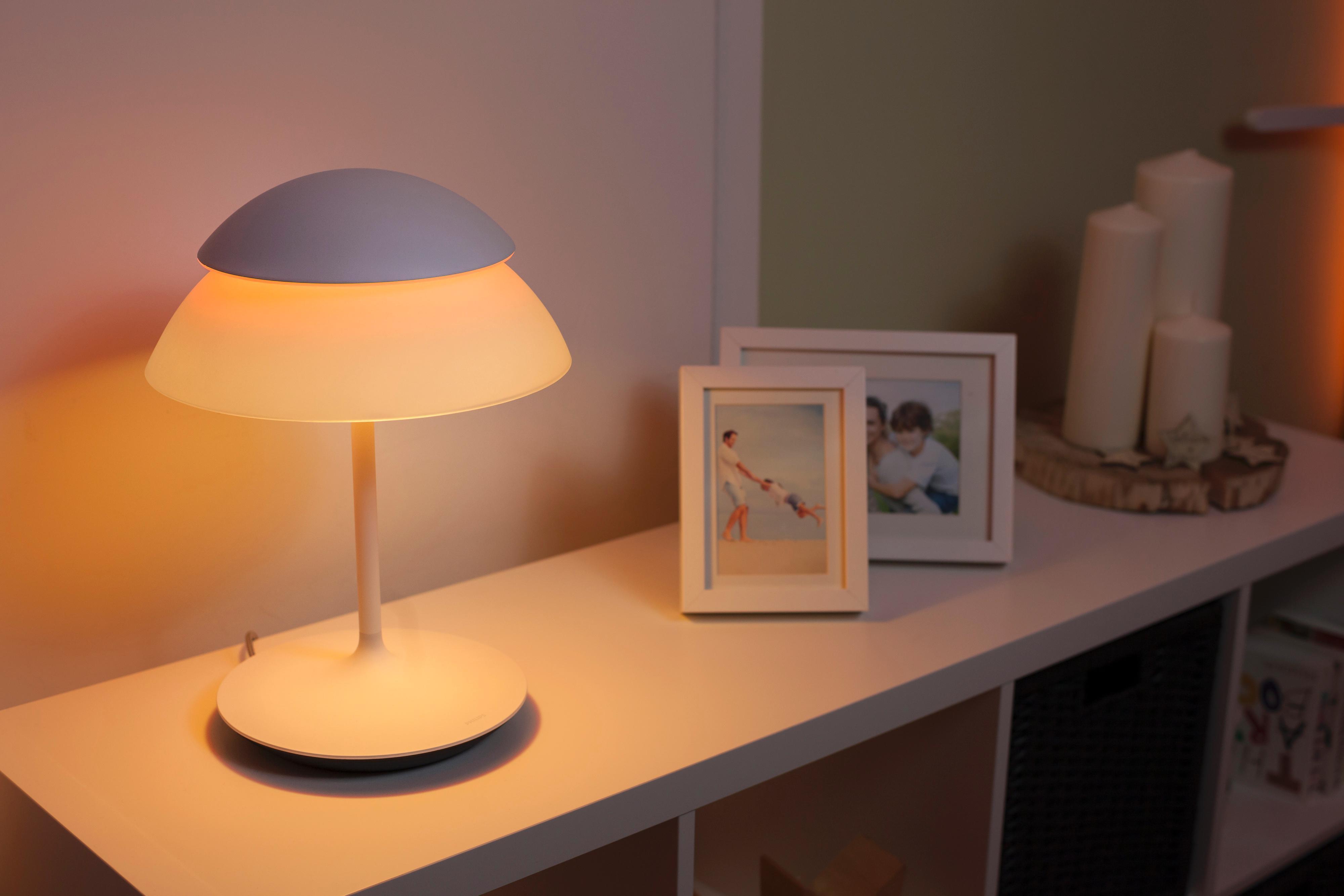 Amazon Com Philips 798082 Hue Beyond Table Lamp Single