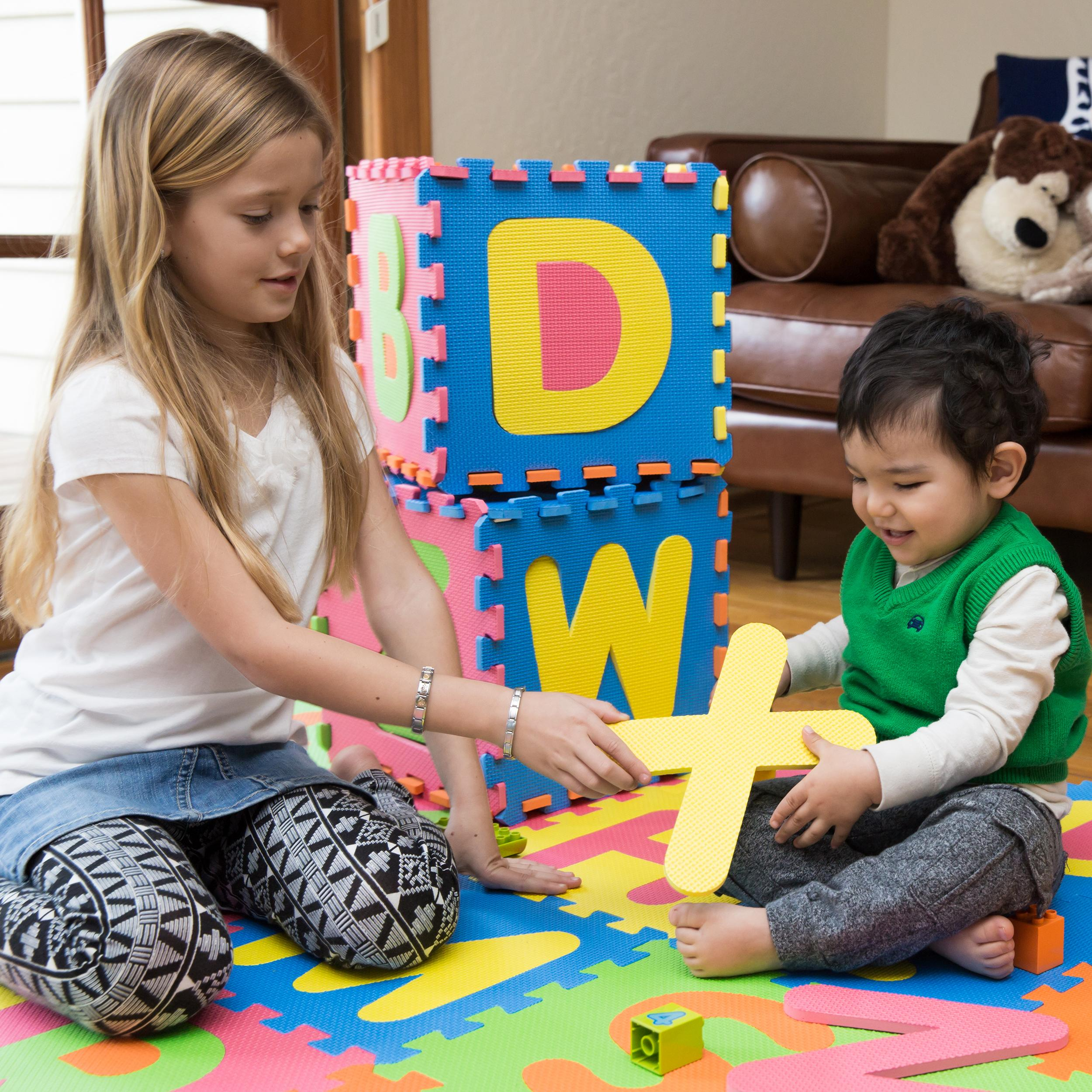 Amazon Com Mota Alphabet Abc Floor Play Mat For Ages 2