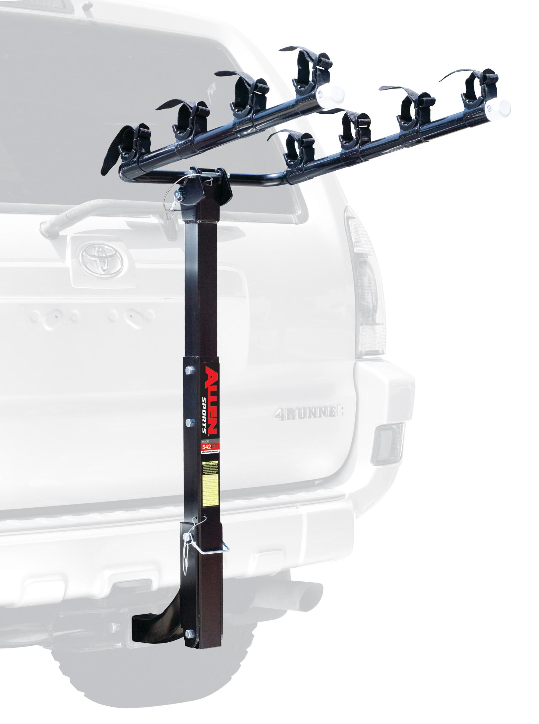 Class Iv Hitch >> Amazon.com : Allen Sports Deluxe 4-Bike Hitch Mount Rack ...