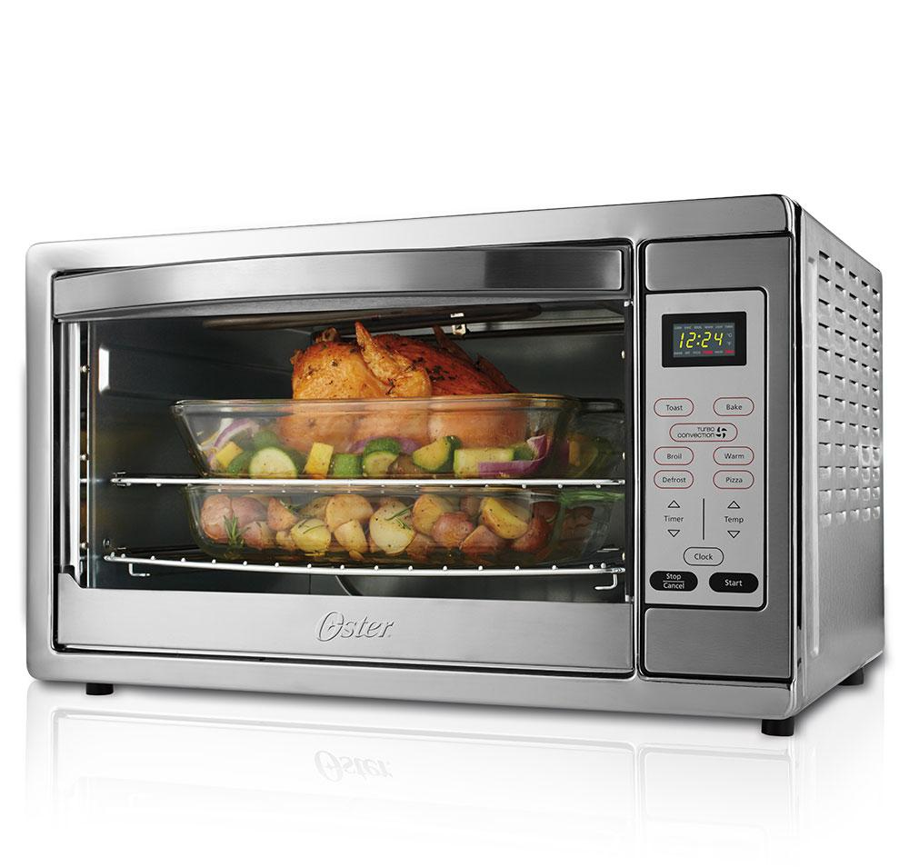 Can You Use Metal Pans In A Microwave Convection Oven: Amazon.com: Oster Extra Large Capacity Countertop 6-Slice