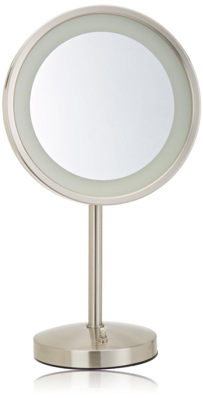 Amazon Com Jerdon Hl1015nl 9 5 Inch Led Lighted Vanity