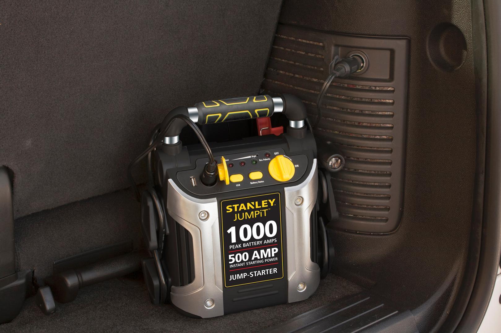 Emergency Battery Jump Starter Portable Air Compressor