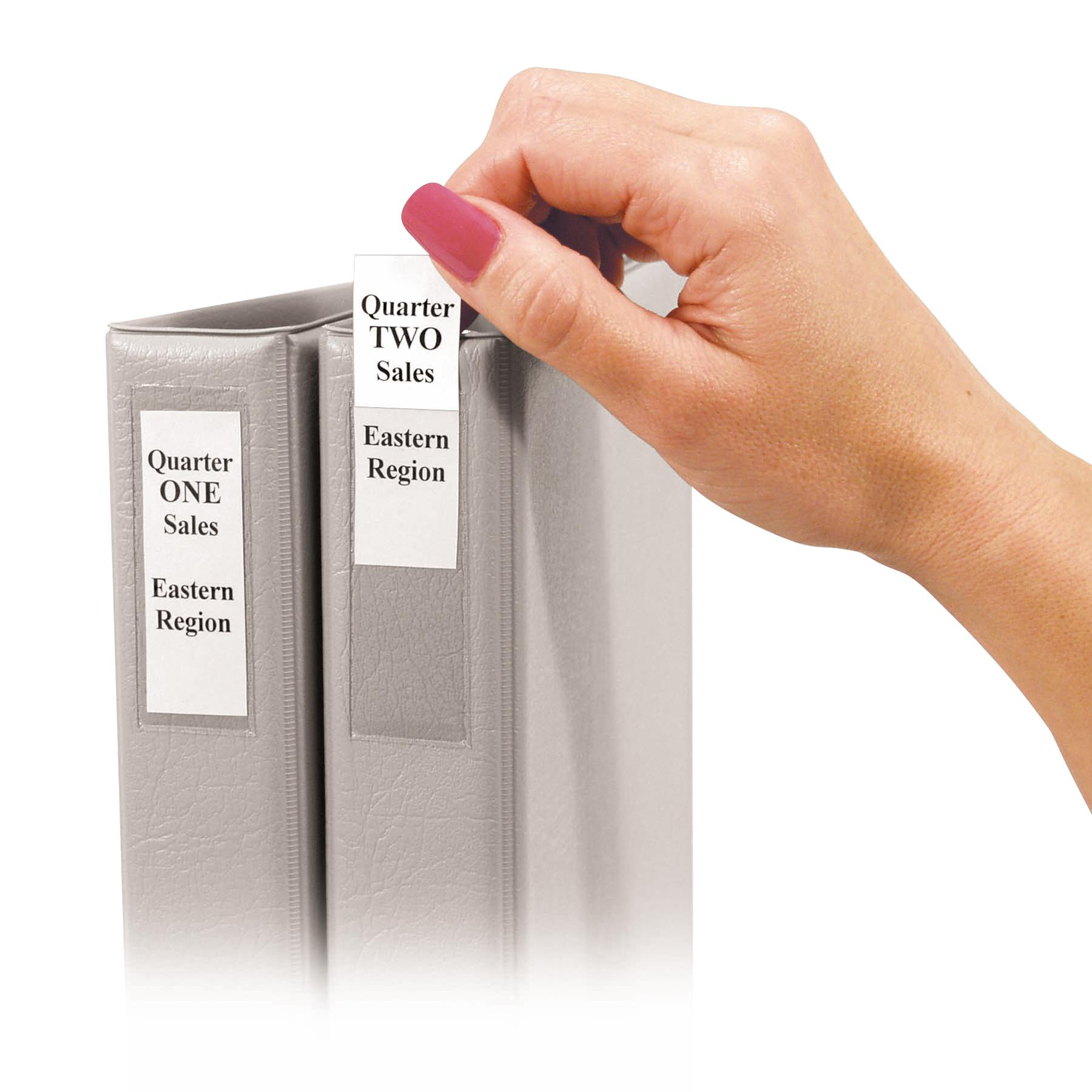 Self-Adhesive Binder Labels