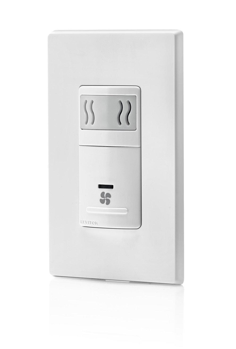 Leviton Iphs5 1lw Humidity Sensor And Fan Control Single
